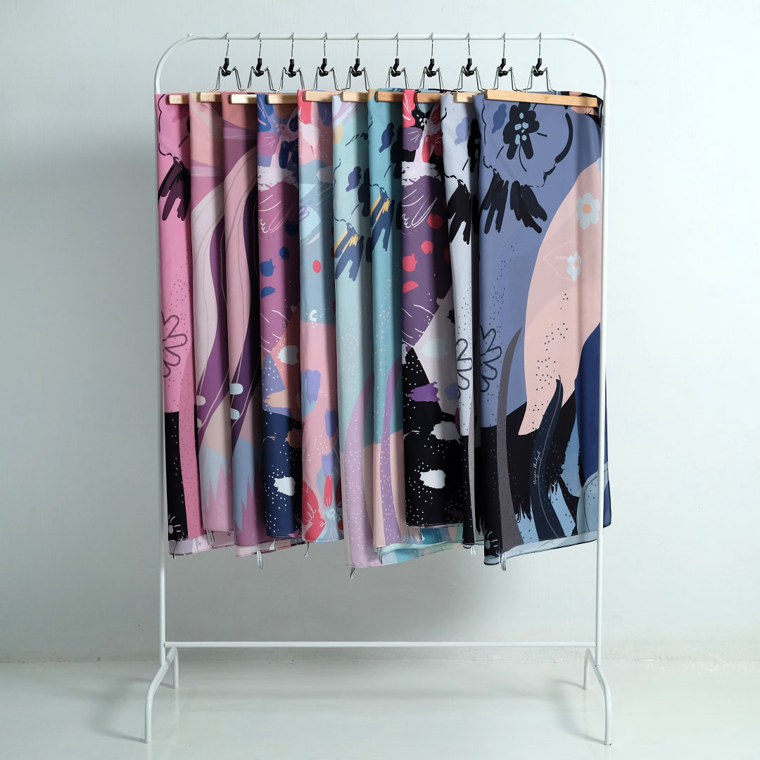 Exclusive floral design by Camelia Printed <br> Now RM 55.00 | <s>Normal Price RM 89</s>
